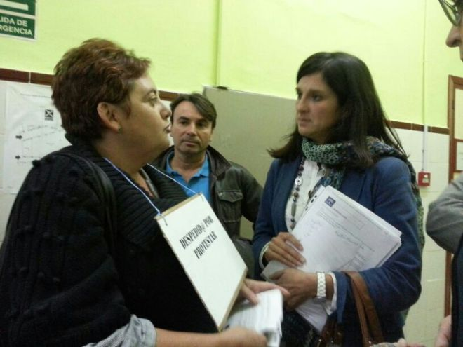 administrativas con la delegada