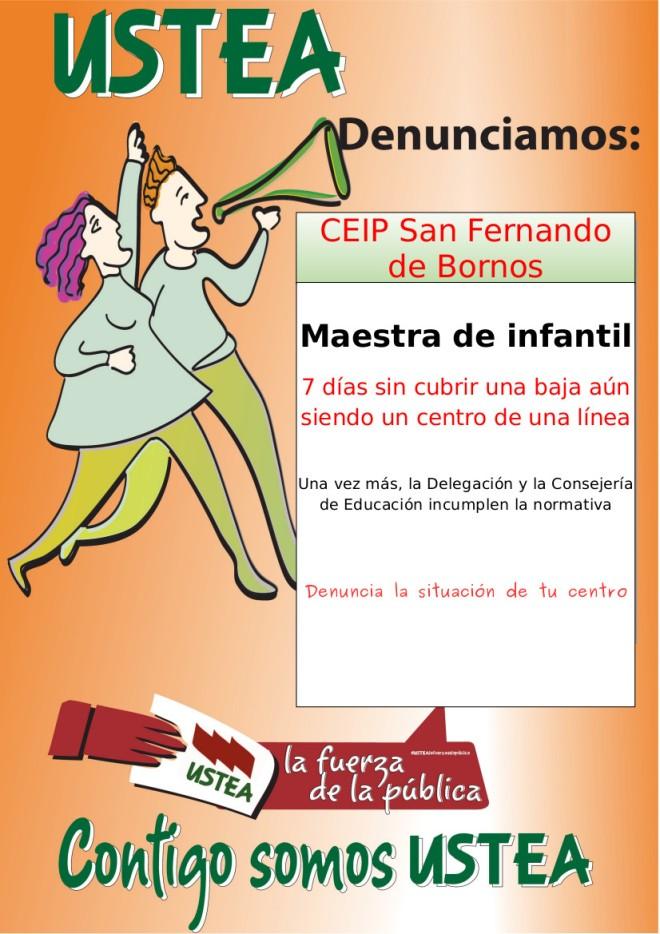 USTEA_Denuncia_CEIPSanFernando_Cadiz