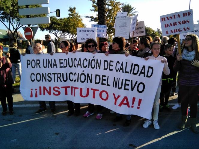 Concentración Nuevo Instituto YA - Jerez 15 nov 17 IV