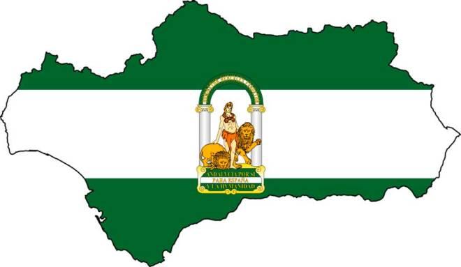 Andalucia-mapa-bandera-y-escudo