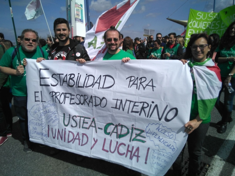 EL PROFESORADO INTERINO EN LA ANDALUCÍA GOBERNADA POR LA DERECHA APOYADA POR LA ULTRADERECHA, por J.DavidVargas