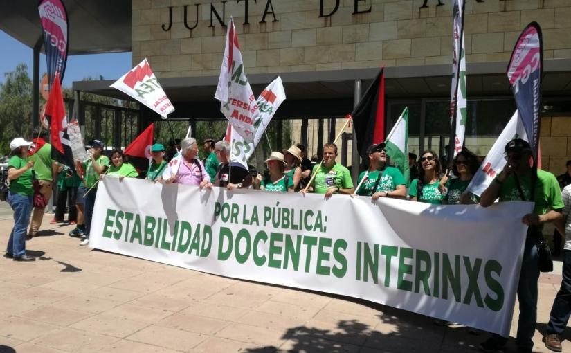 Las bolsas extraordinarias y el profesorado interino en la educación pública andaluza, por J. David Vargas (responsable Interin@s USTEACádiz)