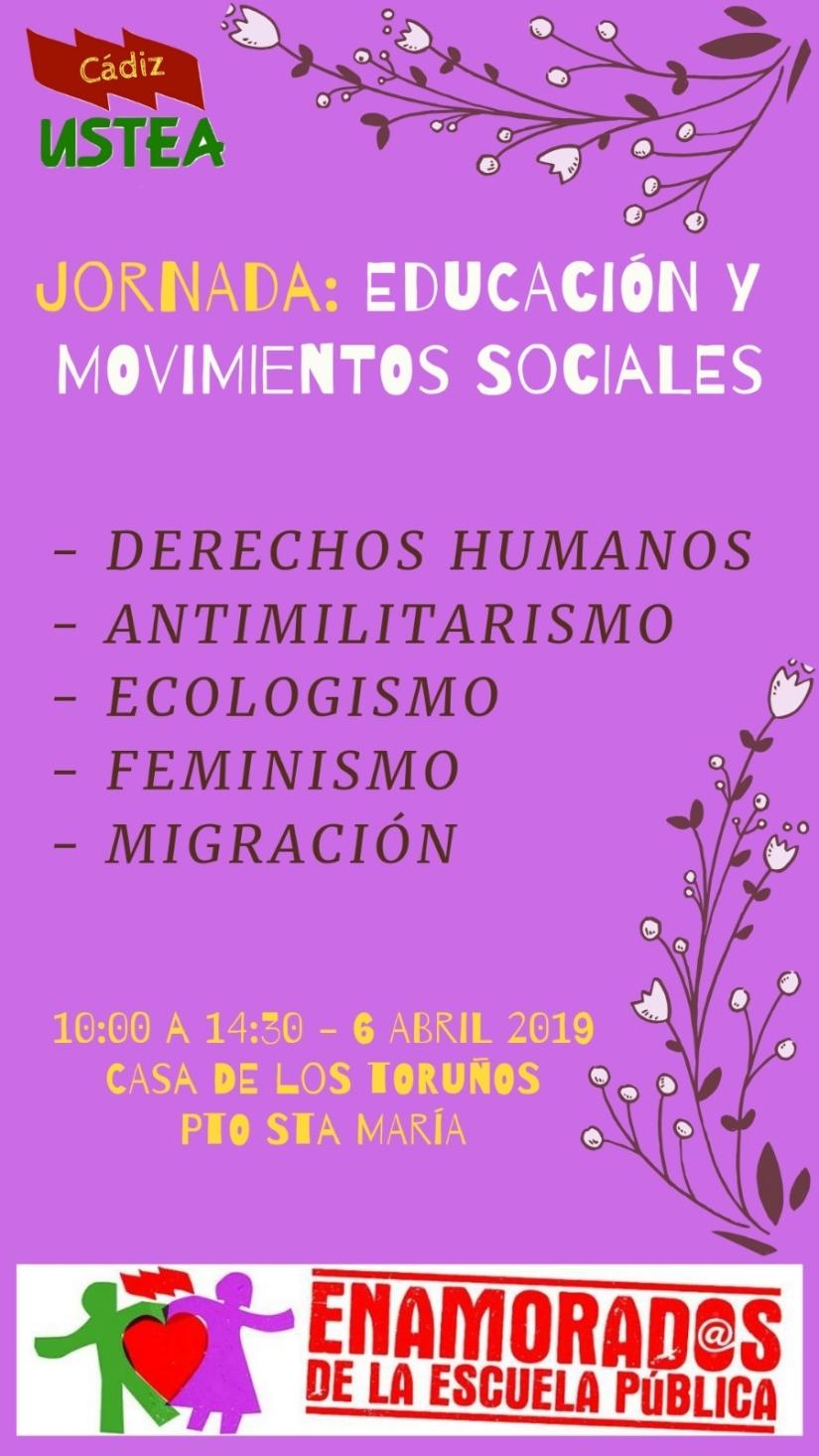 Enamorad@s de la Pública 2019, 6 de abril en Casa de los Toruños, El Puerto de Santa María, a partir de las 10:00.¡¡Ven a convivir, a aprender y aenseñar!!